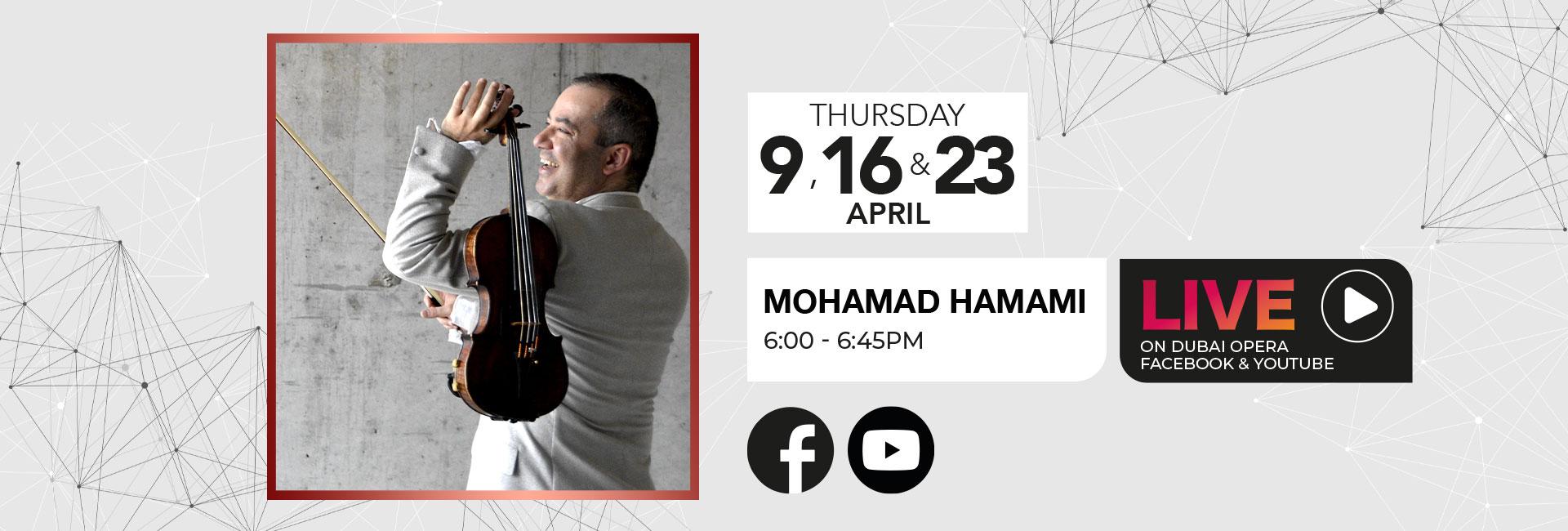 Virtual Concert: Mohamad Hamami Live Dubai 2020