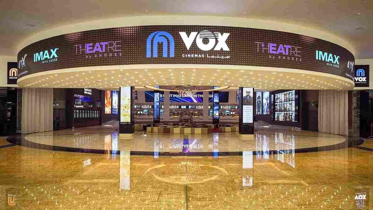 Vox Cinema Locations in Dubai