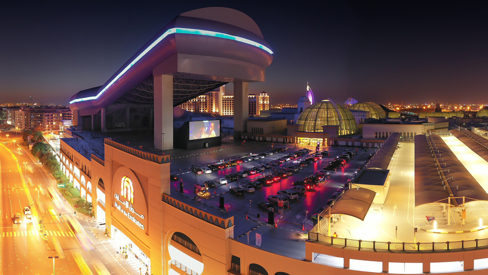 VOX Cinemas Drive-in Dubai 2020