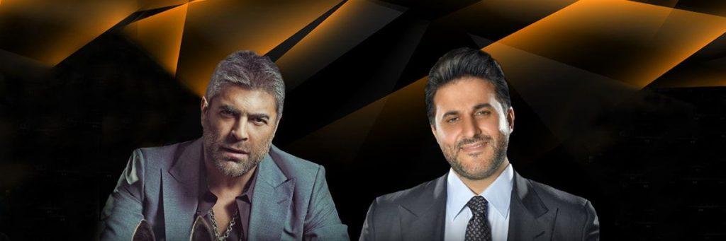 Wael Kfoury and Melhem Zein Live