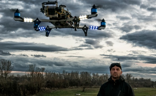 World drone prix Dubai 2016- Drone racing