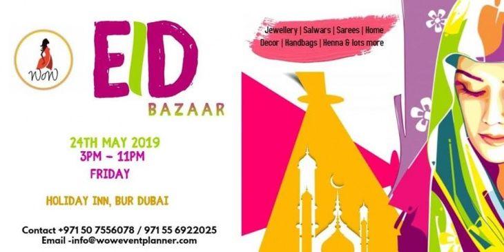 WoW Eid Bazaar Dubai 2019