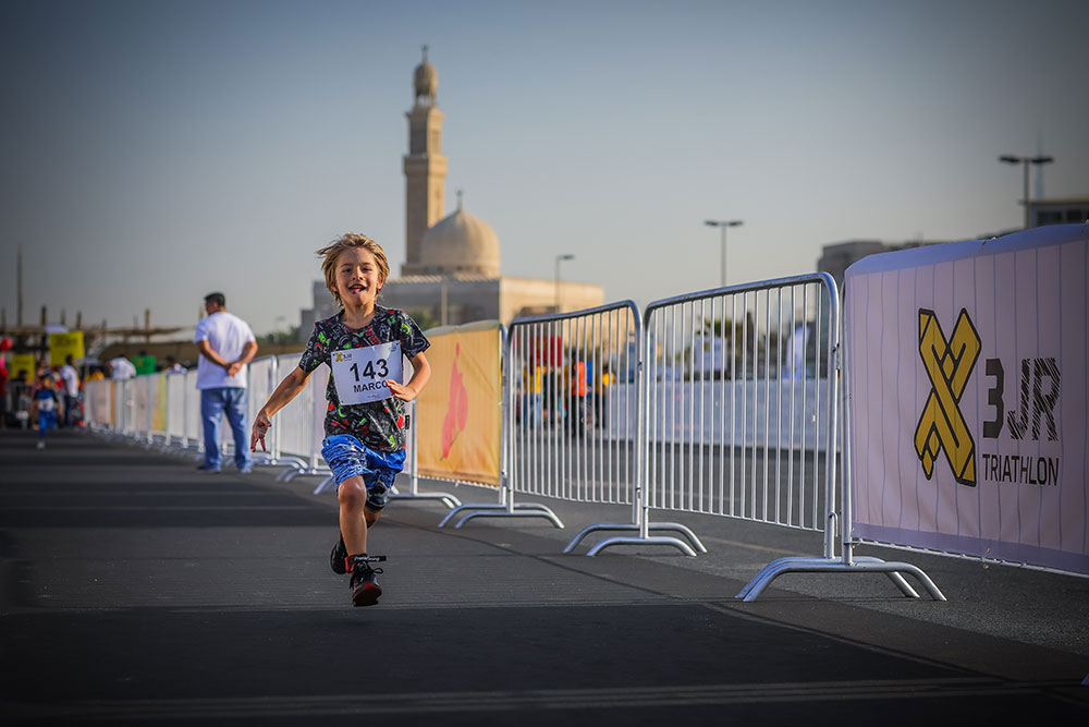 X3 Junior Triathlon 2019 on Nov 16th at Kite Beach Dubai