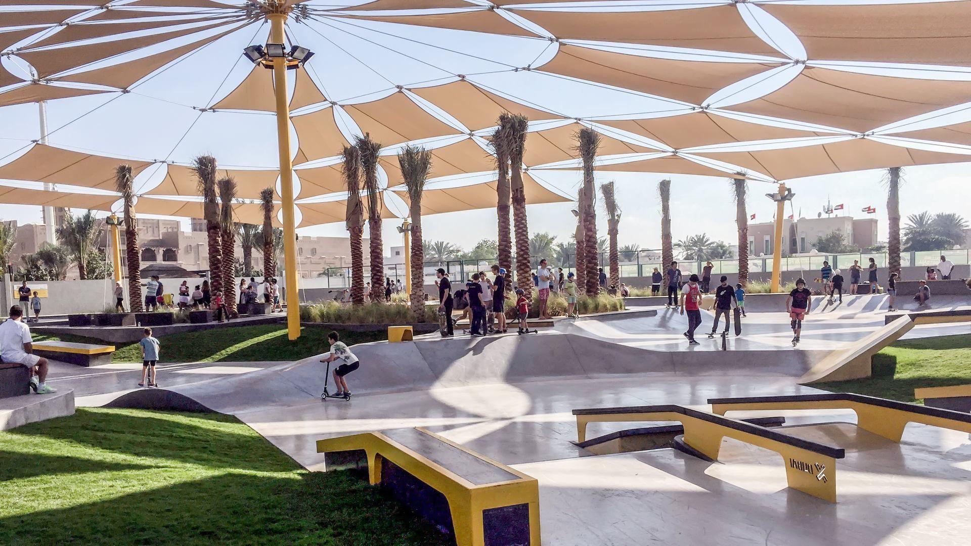 XDUBAI Skatepark Dubai 2020