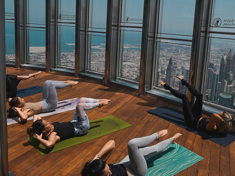 Yoga At The Top Dubai 2020