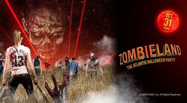 Zombieland at Atlantis The Palm